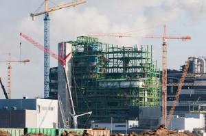 narva-olitehase teraskonstruktsioonide montaaž 2011